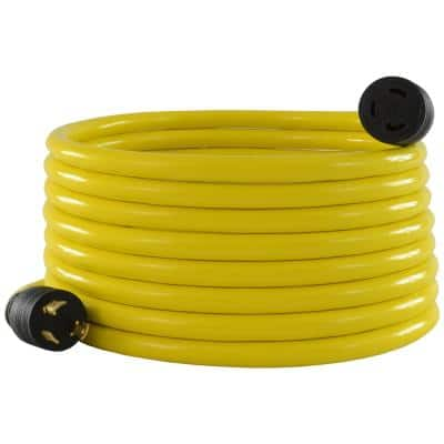 25 ft. 10/3 STW L5-30 Generator Power Extension Cord
