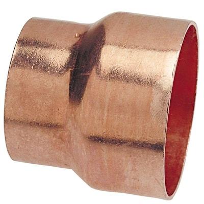 2 in. x 1-1/2 in. Copper DWV Fitting x Cup External Bushing