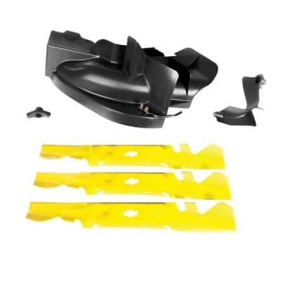 Original Equipment Xtreme 50 in. Mulching Kit for Riding and Zero Turn Mowers with S-Shape Blade Center (2020 and After)