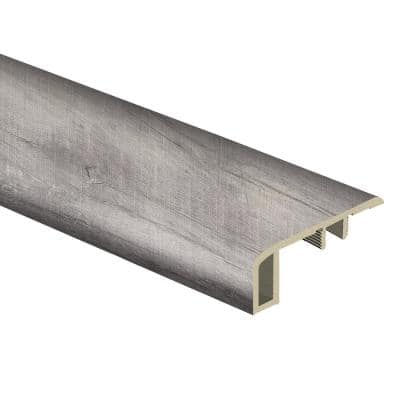 Ashland Valley 7/16 in. Thick x 1-3/4 in. Wide x 72 in. Length Vinyl Carpet Reducer Molding