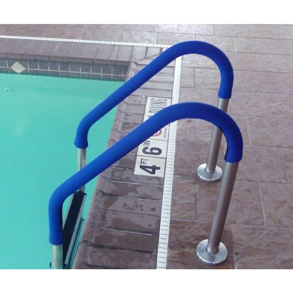 Blue Wave 8 Ft Grip For Pool Handrails In Blue Ne1253 The Home Depot