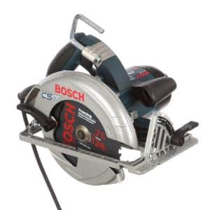 15 Amp 7-1/4 in. Corded Circular Saw with 24-Tooth Carbide Blade and Carrying Bag