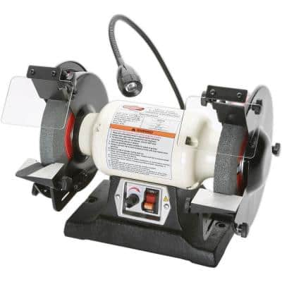 8 in. Variable-Speed Grinder with Worklight