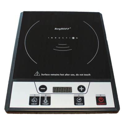 Tronic 10 in. Power Induction Cooktop Black with 1 Element
