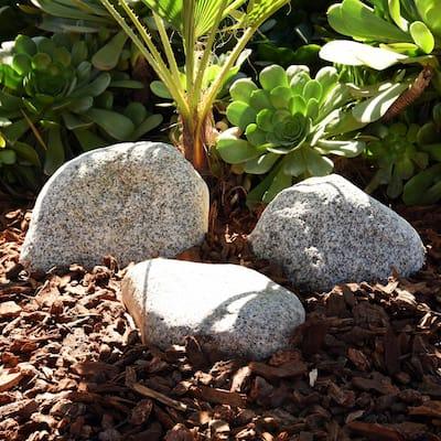10 cu.ft. 1-2 ft. Navajo Natural Stone Boulders, Extra-Large Landscape Rock (40 lbs. - 60 lbs. Per Boulder) 20-Pack
