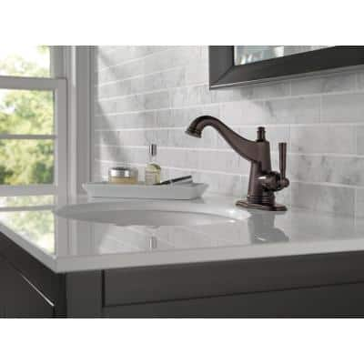 Mylan Single Hole Single-Handle Bathroom Faucet in Venetian Bronze