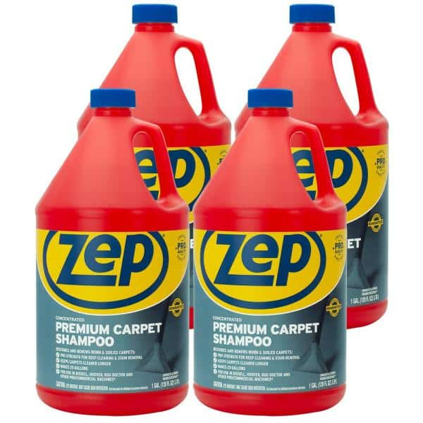 Zep 1 Gal Premium Carpet Shampoo Case Of 4 Zupxc128 The Home Depot