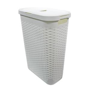 40 L Laundry Hamper White