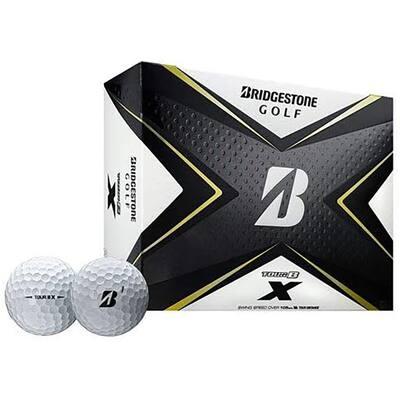 Tour B X Golf Balls with Reactive Cover Technology, White (2-Dozen)
