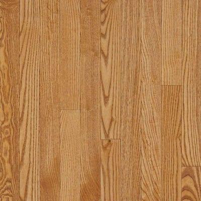 Take Home Sample - Plano Marsh Oak Solid Hardwood Flooring - 5 in. x 7 in.