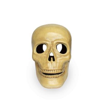 12 in. White Scary Skull