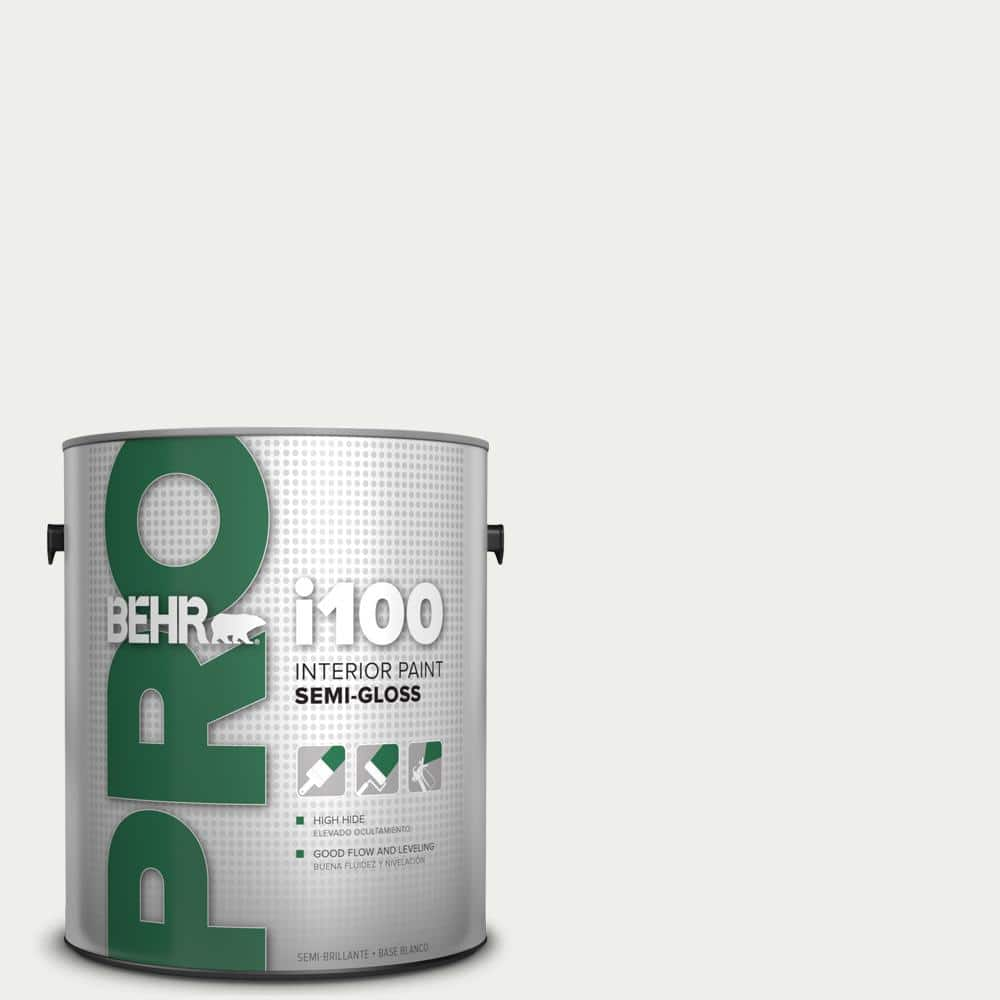 Behr Pro 1 Gal I100 Toned Base Semi Gloss Interior Paint Pr17001 The Home Depot