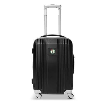 NBA Boston Celtics 21 in. Black Hardcase 2-Tone Luggage Carry-On Spinner Suitcase