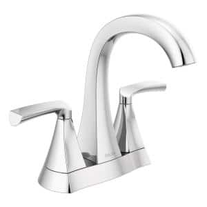 Pierce 4 in. Centerset 2-Handle Bathroom Faucet in Chrome
