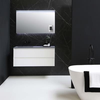 adorne 1 Gang Plus Decorator/Rocker Wall Plate, Mirror (1-Pack)