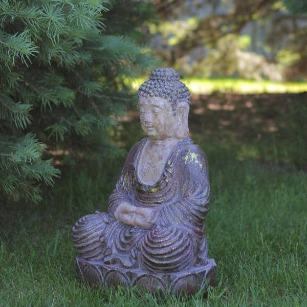 Northlight 22 In Tating Buddha, Buddha Garden Statues