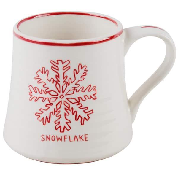 Molly Hatch 16 Oz Snowflake Mug 63858 The Home Depot