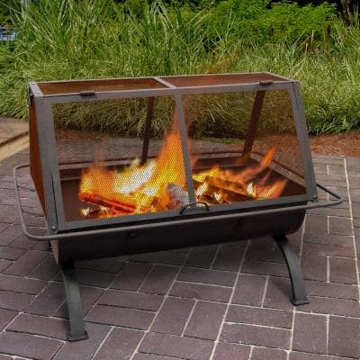 Northwoods 35 in. Wood Burning Outdoor Fireplace