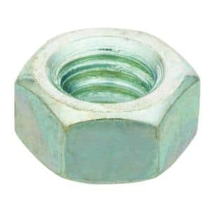 5/16 in.-18 Zinc Plated Hex Nut (100-Pack)