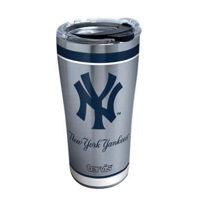 MLB New York Yankees Tradition 20 oz. Stainless Steel Tumbler with Lid