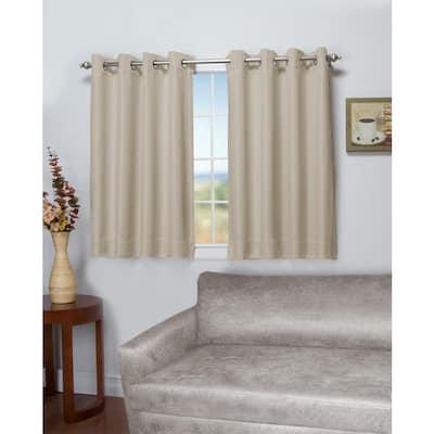 Parchment Grommet Blackout Curtain - 50 in. W x 54 in. L
