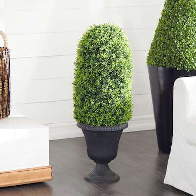 Black Traditional Polyethylene Artificial Foliage