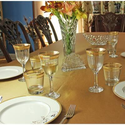 White Wine Melania Collection Amber (Set of 6)