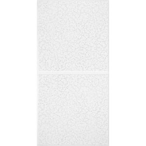 Scored 2 ft. x 4 ft. Tegular Ceiling Tile (80 sq. ft. / Case)