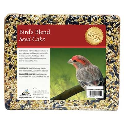 Bird's Blend Seed Cake - 2 lbs. - 8-Pack