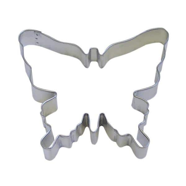 Cybrtrayd 12 Piece 5 75 In Butterfly Tinplated Steel Cookie Cutter Recipe Rm 1091 12lot The Home Depot