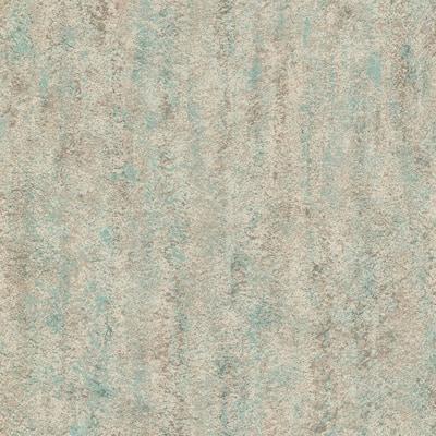 Rogue Multicolor Concrete Texture Gold/Teal Wallpaper Sample