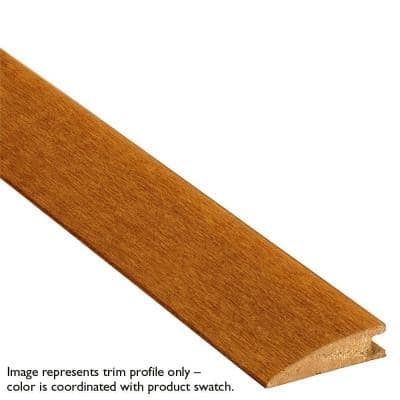 Natural Hickory 1/2 in. Thick x 2 in. Wide x 78 in. Length Solid Hardwood Reducer Molding