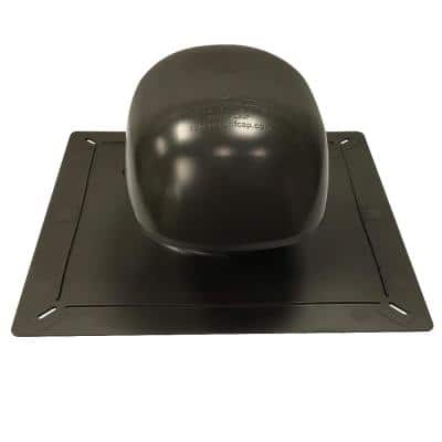 Roof Vent Kit, Bath and Dryer in Bronze