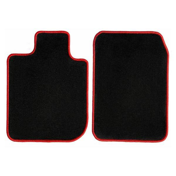 2016 2018 2014 2013 2019 BMW 6 Series Convertible//Coupe Black with Red Edging Driver /& Passenger Floor 2017 2015 GGBAILEY D50470-F1A-BLK/_BR Custom Fit Car Mats for 2012