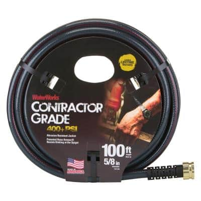5/8 in. Dia x 100 ft. Contractor Water Hose