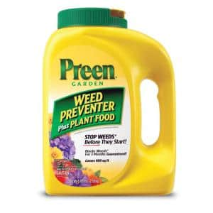5.625 lbs. Garden Weed Preventer Plus Plant Food