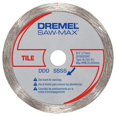 Saw-Max 3 in. Diamond Tile Wheel