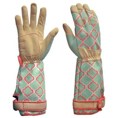Rose Picker Large Synthetic Leather Glove