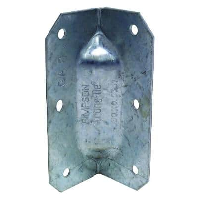 GA 3-1/4 in. 18-Gauge Galvanized Gusset Angle