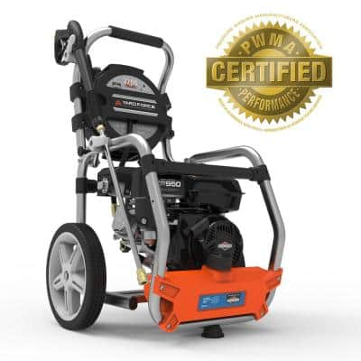 3,200 PSI 2.5 GPM Cold Water 208 cc Briggs & Stratton Gas Pressure Washer with Built-in Live Hose Reel