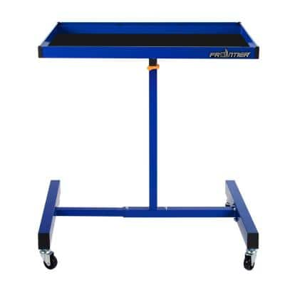 32 in. Portable Utility Cart in Blue