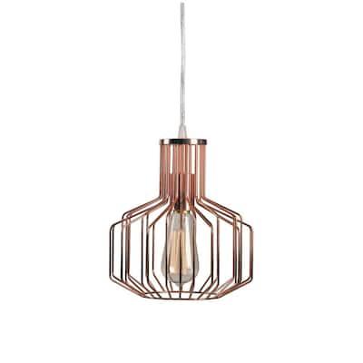 Irena 1-Light Copper Swag Pendant