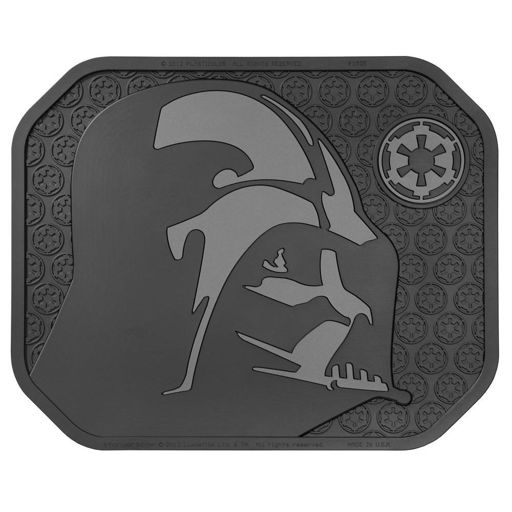 Star Wars Darth Vader Heavy Duty 17 in. x 14 in. Vinyl Utility Car Mat