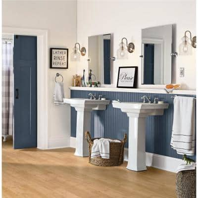Waverly 7 mm T x 5 in W x 38.58 in L Waterproof Engineered Click Bamboo Flooring (13.40 sf/case)