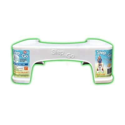 7 in. Toilet Potty Aid in White