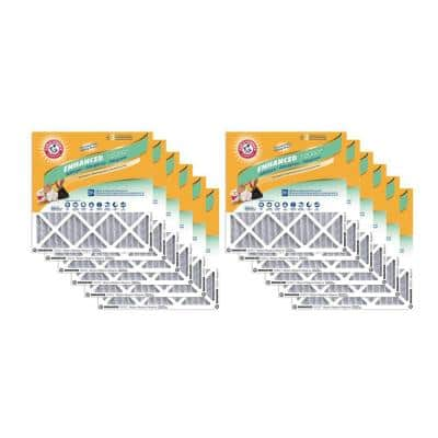 20 x 30 x 1 Odor Allergen and Pet Dander Control Air Filter (12-Pack)