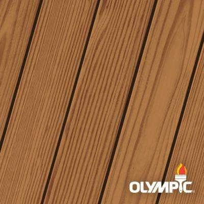 Elite 1 Gal. Kona Brown Woodland Oil Transparent Advanced Exterior Stain and Sealant in One
