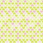 Creative Covering 18 in. x 20 ft. Lemonade Hearts Self-Adhesive Vinyl Drawer and Shelf Liner (6 rolls)