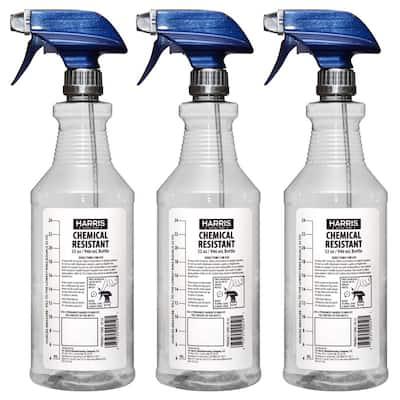 32 oz. Heavy-Duty Chemical Resistant Pro Spray Bottle (3-Pack)