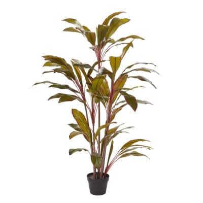 59 in. Artificial Cordyline Plant with Pot